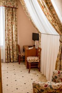 Гостиная зона в Hotel Solnechny Bereg