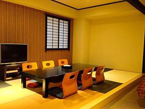 A television and/or entertainment center at Kokura Bay Hotel Daiichi