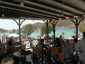 A restaurant or other place to eat at Aphroditi Hotel