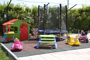 Children's play area at Casa Eden