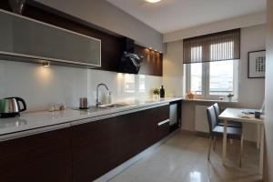 Kuchnia lub aneks kuchenny w obiekcie Apartament Classic