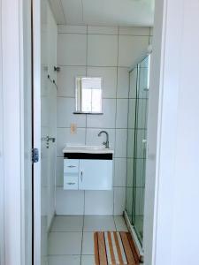 A bathroom at Apartamento Modus Vivendi