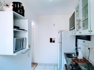 A kitchen or kitchenette at Apartamento Modus Vivendi