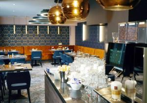 A restaurant or other place to eat at Boutique Hotel Germania