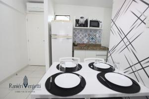 A kitchen or kitchenette at Paraiso, paz e conforto é aqui! Seja bem vindo(a).