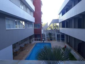 The swimming pool at or near Atalaia Apart Hotel