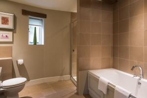 A bathroom at The Howard Arms