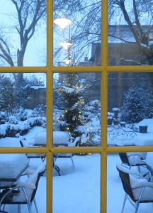 Huis Vandermersch in de winter