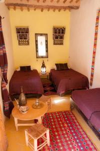 Coin salon dans l'établissement Dar Sofar
