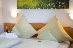 Кровать или кровати в номере Haus Seidl