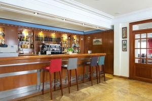 The lounge or bar area at Hotel MR Costa Blanca