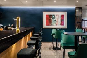 The lounge or bar area at Hotel HC*** Mollet Barcelona
