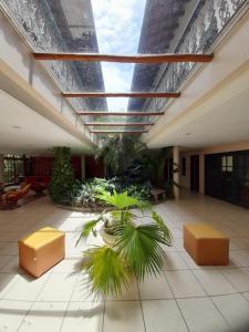 O saguão ou recepção de Pousada Villa Harmonia