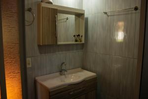 Um banheiro em Pousada Cascata Véu de Noiva