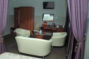 Ванная комната в Отель Прага