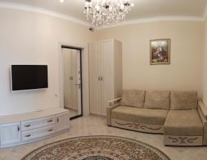 A seating area at Апартаменты на Халтурина 30 КОМФОРТ