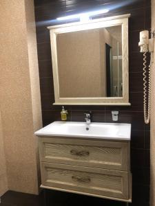 Ванная комната в Nab Hotel Taganskaya
