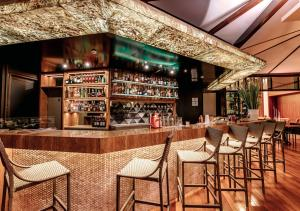 The lounge or bar area at Bourbon Convention Ibirapuera
