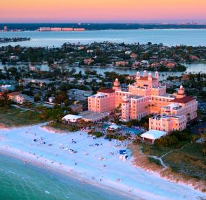 A bird's-eye view of The Don CeSar - Recently Renovated