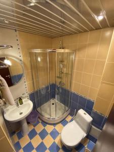 Ванная комната в Отель Пионер