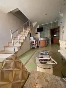 Гостиная зона в Отель Пионер