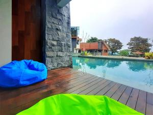 The swimming pool at or close to The Batu Hotel & Villas