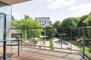 A balcony or terrace at Downtown Apartments Mitte