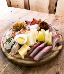 Frühstücksoptionen für Gäste der Unterkunft Bauernhof Ablass