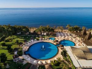 Ett flygfoto av Hotel Don Pepe Gran Meliá