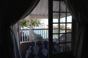 A balcony or terrace at The Riverview Hotel - New Smyrna Beach