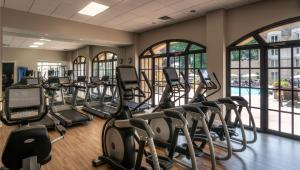 The fitness centre and/or fitness facilities at Chateau Elan Winery