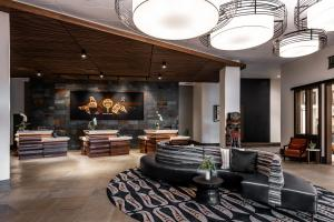 The lobby or reception area at 7 Cedars Hotel & Casino