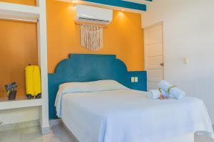 Cama o camas de una habitación en Hotel Lagoon - Pet Friendly