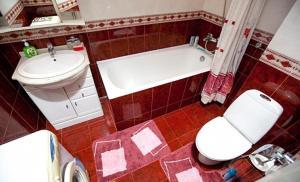 Ванная комната в Business Brusnika Apartment Serpukhovskaya