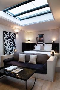 Area soggiorno di Hotel Flanelles Paris