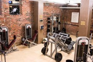 The fitness center and/or fitness facilities at The Oxford Hotel Downtown Denver