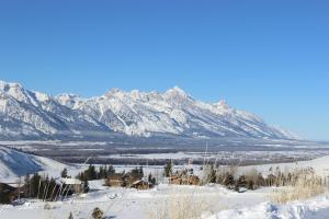 Spring Creek Ranch during the winter