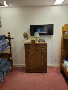 A television and/or entertainment center at Bowering Lodge