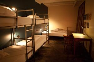 A bunk bed or bunk beds in a room at Kex Hostel
