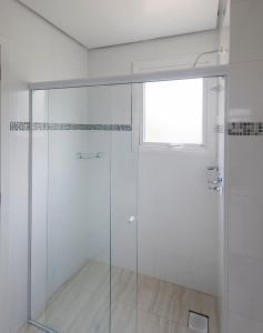 A bathroom at Pousada Perfume de Canela