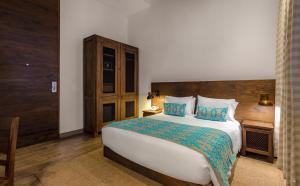 Cama o camas de una habitación en Sophia Hotel
