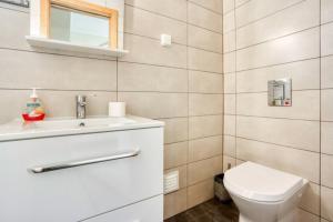 A bathroom at Casa Martha