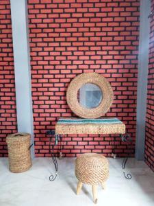 A seating area at Kurnia Homestay
