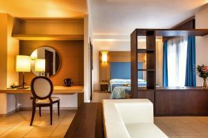 A bathroom at Lu' Hotel Carbonia