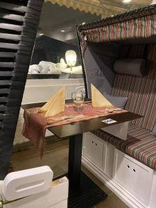 Ein Badezimmer in der Unterkunft Hotel Crystal