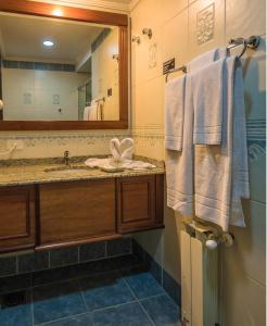 A bathroom at Hotel Serra Nevada