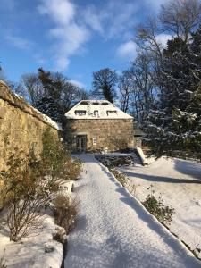 The Lodges @ Barra Castle during the winter