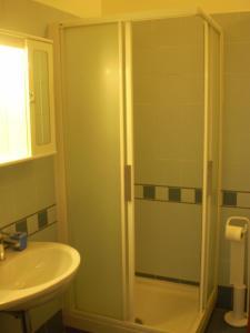 Salle de bains dans l'établissement Trasteverooms La Bernardon