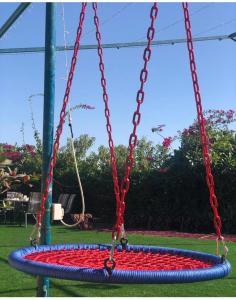 Children's play area at استراحة المعموره almaamoura retreat