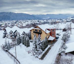 Pensiunea Bucovina iarna